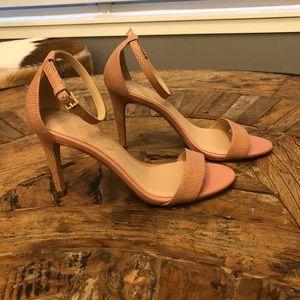 Also pink snake heel